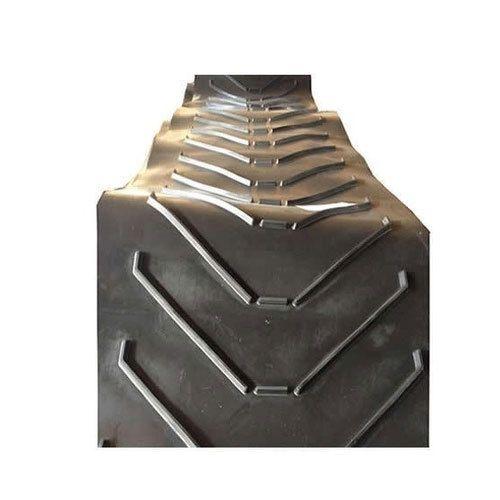 Rubber Conveyor Belts - High Angle Side Walled Belts Manufacturer