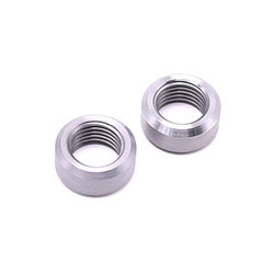 Stainless Steel SS304 CNC Coupling Nut, Round
