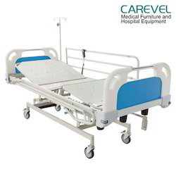 Carevel 3 Function ICU Bed Electric With Manual Overriding