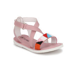 8b31b0d29b3 Genuine Leather Girls Pink Casual Leather Sandal, Rs 899 /pair | ID ...