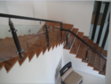 Modern Wooden Baluster Glass Handrail