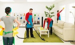 Commercial Onsite Deep Cleaning Services, In Delhi
