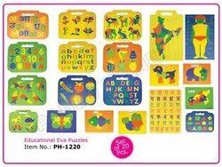 Plastic Educational EVA Puzzles