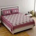 Ethnic Jaipuri King Size Cotton Bed Sheets
