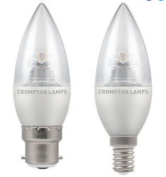 LED Candle Clear Dimmable