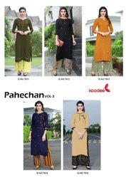 Ladies Printed Kurti With Palazzo
