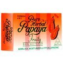 Herbal Papaya Soap Orange Pure Herbal Papaya Fruity Soap, Pack Size: 135gms