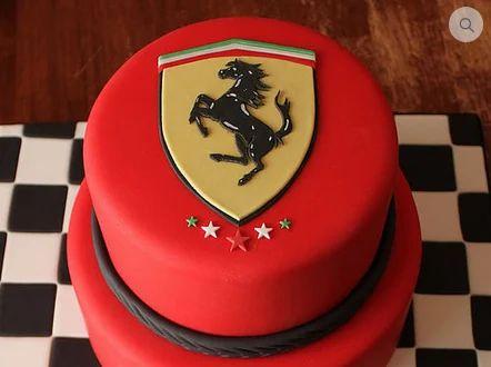 Astonishing Ferrari Cake At Rs 2320 Piece Getsetcake New Funny Birthday Cards Online Ioscodamsfinfo