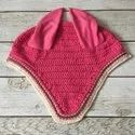 Pink Horse Ear Bonnet
