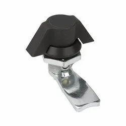 Electronic Knob Panel Lock, Nickel, Packaging Size: 50 Pcs