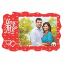 Red Sublimation Wooden Frame, For Gift