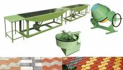 Concrete Floor Tiles Making Machinery, Capacity: 4000 Piece Per Day, Power: 12 HP