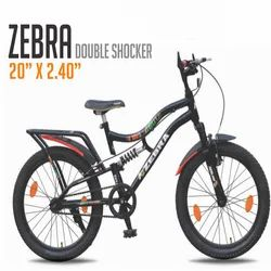 Zebra Double Shocker Bicycle