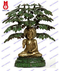 Buddha Sitting Under Tree B/Hand