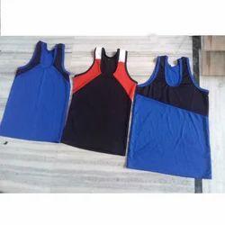 Cotton Lycra Sports Vest