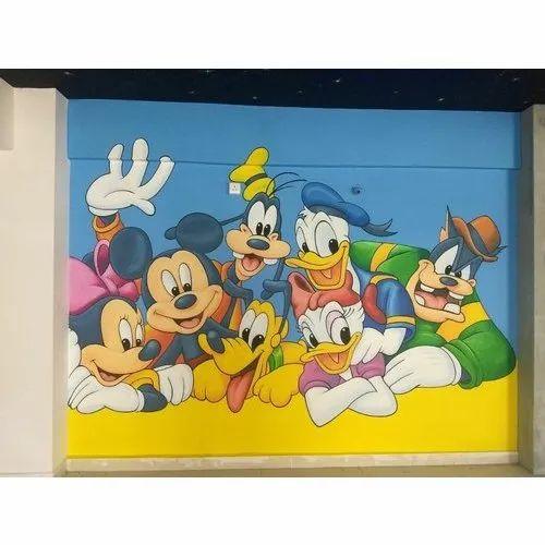 Cartoon Wall Paintings