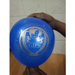Blue PVC Printed Balloons