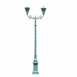Classic Double Arm Lamp Post