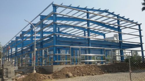 Steel Factory Shed Rs 250 Square Feet New Life Steel Structures