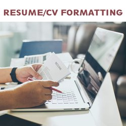 Resume/CV Formatting