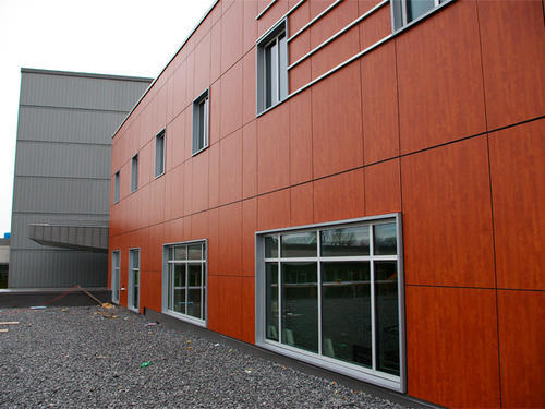 HPL Cladding Service, Thickness: 10-24 Mm