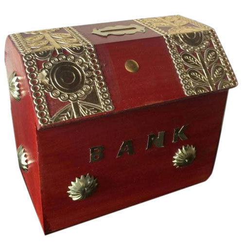 Wooden Money Bank At Rs 150 Piece Bear Coin Bank Sikkon Ki