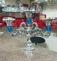 German Silver Candle Stand