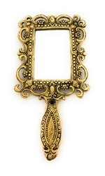 Gold Plated Hand Mirror