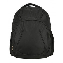 Jayono Polyester Lightweight Black Backpack