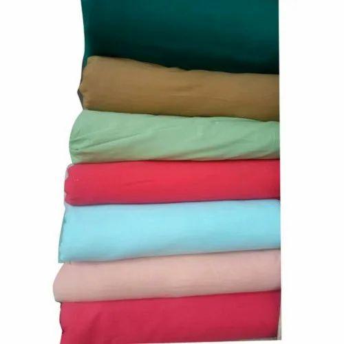 Plain Cotton Fabric, GSM: 150-200 GSM