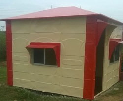 FRP Security Cabin 8x8x7