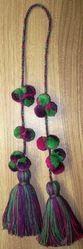 decorative garment pom pom tassel