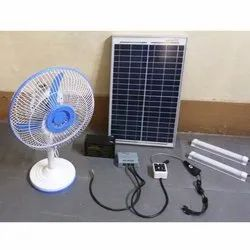 Solar Table Fan