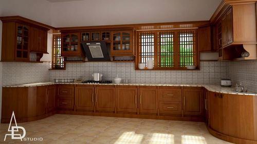 Teak Modular Kitchen At Rs 2500 Square Feet Wooden