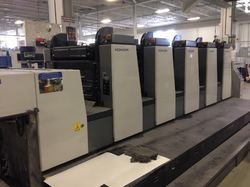 Komori L528 5 Color Used Offset Press Machine