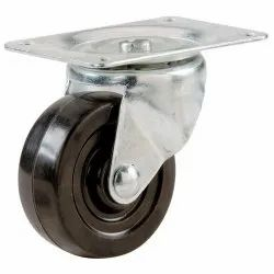 Rotatable ESD Caster Wheel