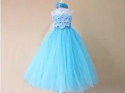 Navy Blue Shopolica Baby Queen Elsa Princess Tutu Party Dress