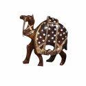 Antique Wooden Camel Statue