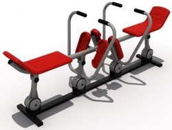 Double Rowing Machine
