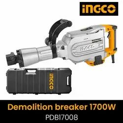 16kg Demolition Hammer Machine Ingco 1700watts, Model Name/Number: PDB17008