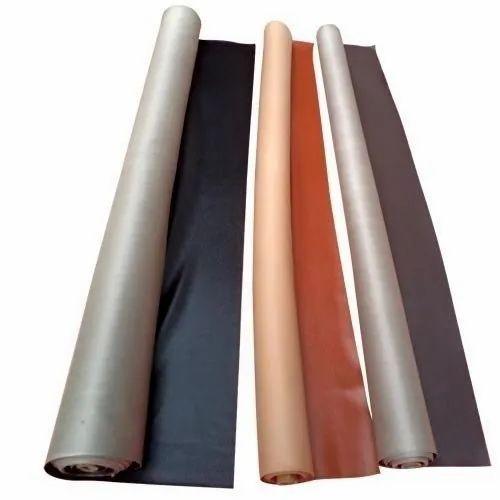 Plain 0.6 mm Rexine Cloth for Footwear