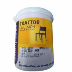 High Gloss Asian Tractor Smooth Wall Finish Emulsion Paint, Packaging Type: Bucket, Packaging Size: 900 Ml