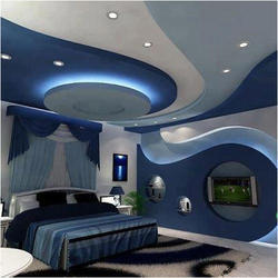 Interior Design Bedroom False Ceiling Services