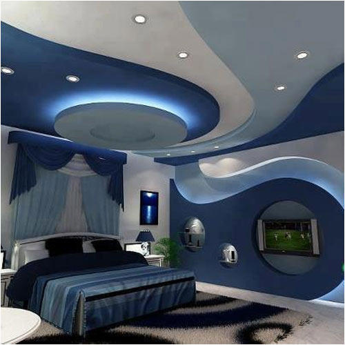 POP Interior Design Bedroom False Ceiling Services
