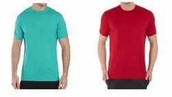 Mens Cotton Round Neck Half Sleeve T Shirt