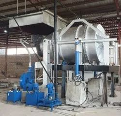 Tilting Rotary Furnace for Aluminium Scrap Processing