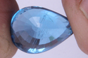 Swiss Blue Topaz Faceted Pear Shape