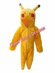 Kids Pikachu Cartoon Costume