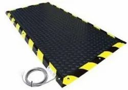 Black Polyester Pressure Sensitive Safety Mats