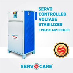 3 Phase Air Cooled Servo Controlled Voltage Stabilizer